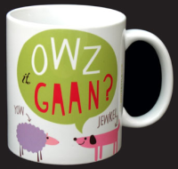 Owz It Gaan mug